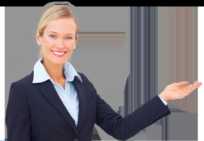 mujer de negocios y pymes
