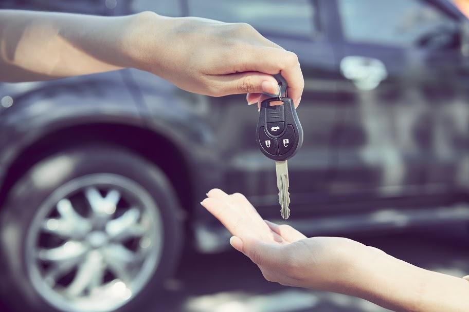 entrega llaves venta de coche
